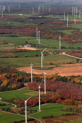 Figure 2. Maple Ridge Wind Farm, Lewis County, New York